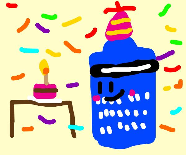 Tardis celebrates its birthday