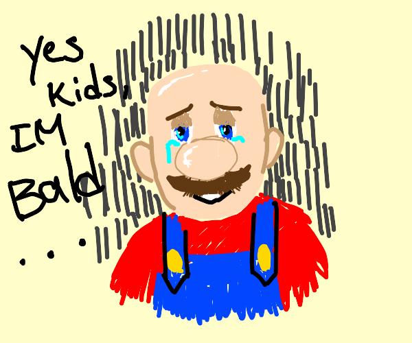 Bald Mario