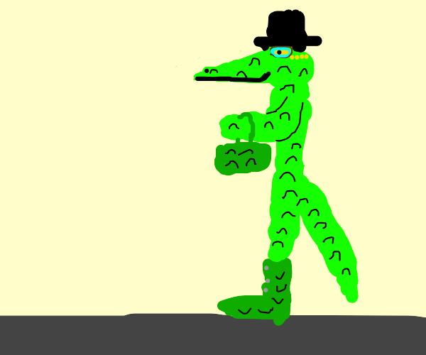 Fancy alligator