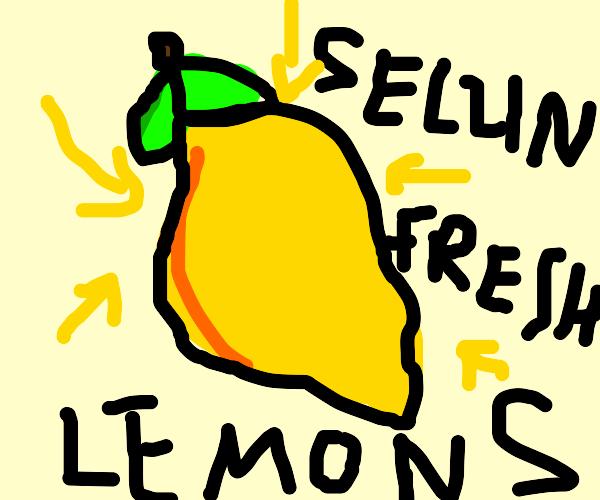 F R E S H lemon