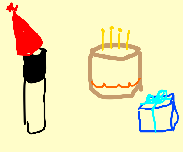 birthday for a marker pen