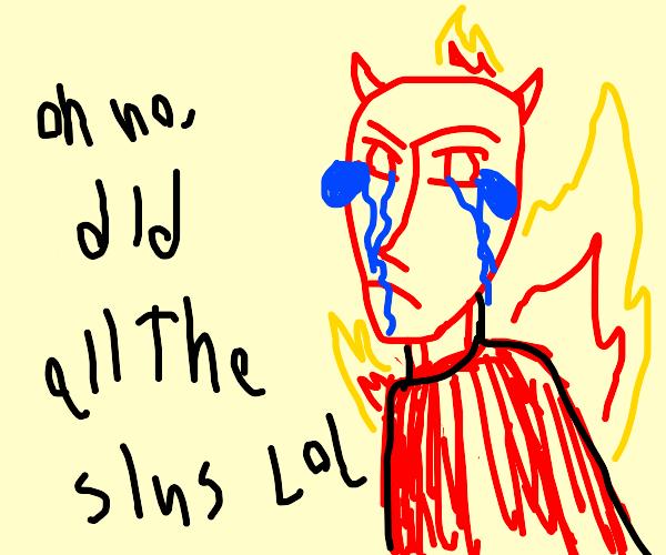 Man who has done the 7 unforgiving sins