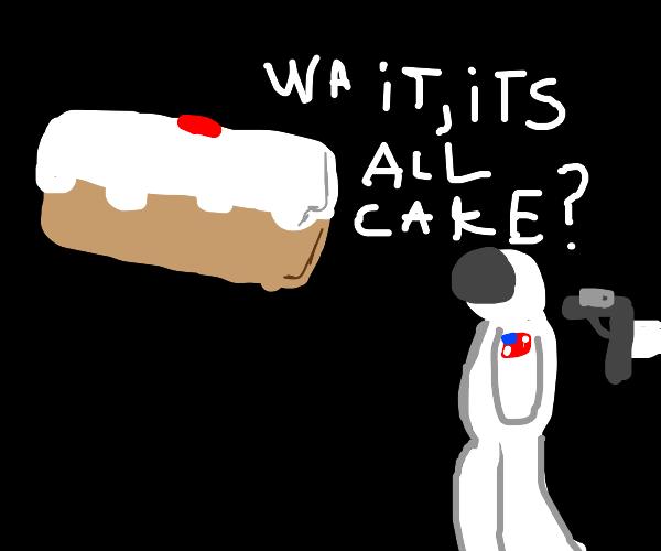 Wait, It's all cake?