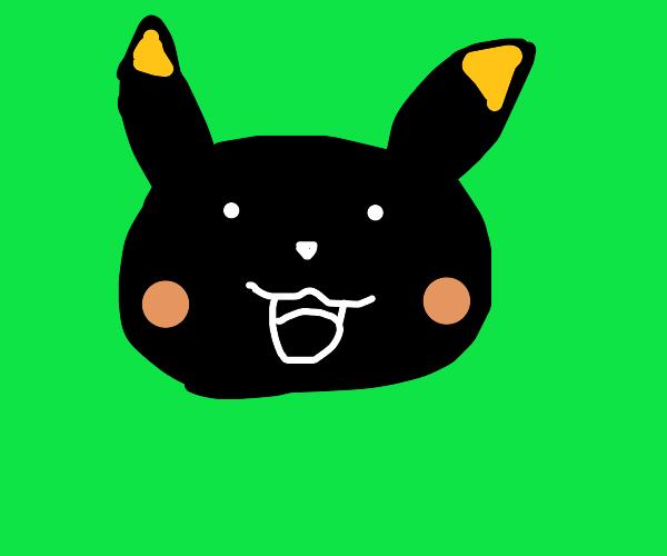 colour inverted pikachu