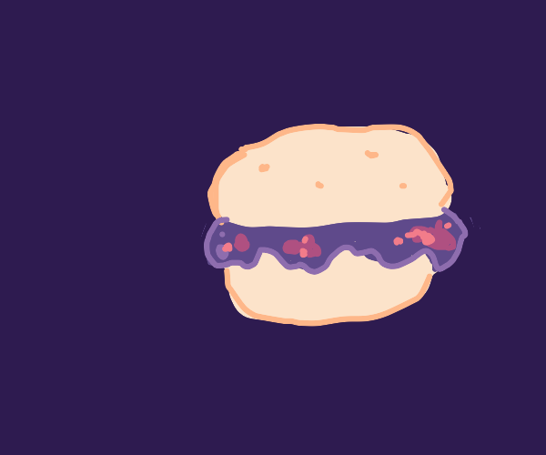 Jelly hamburger