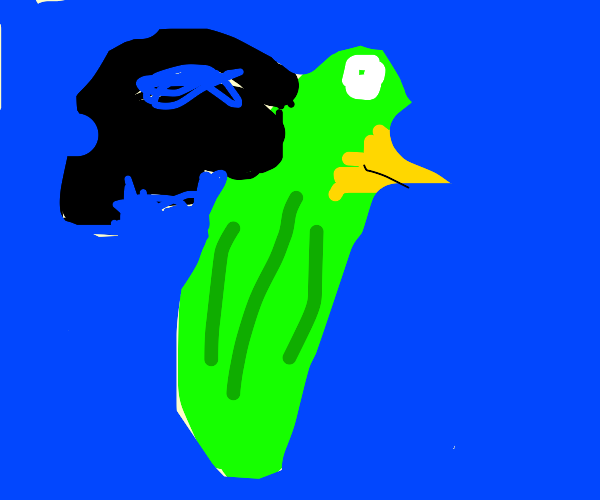 Green Bean combined with Crow