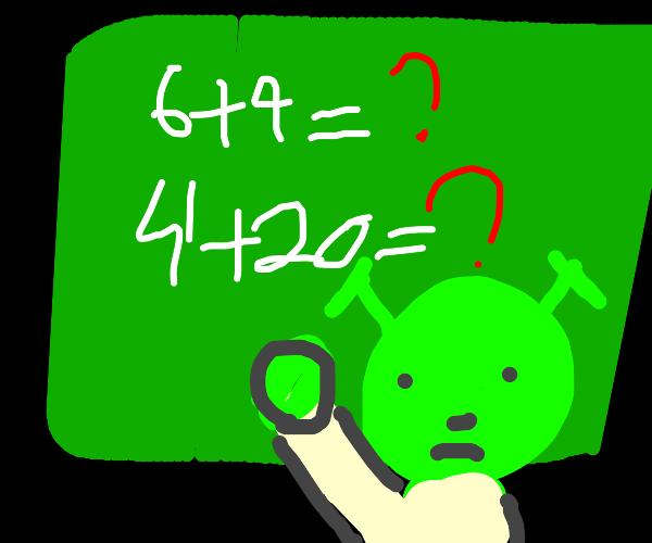 6+9=69, 4+20=420 :P
