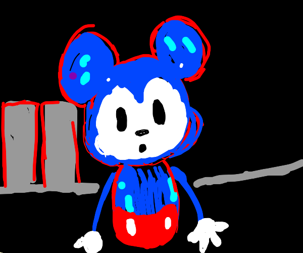 Mickey Mouse goes to the big city