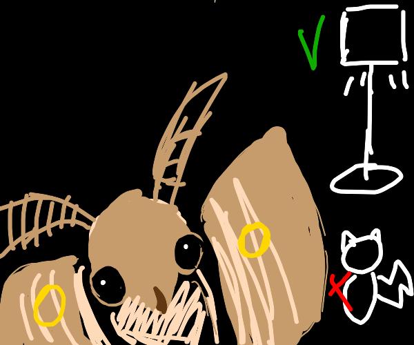 Moth giving a Presentation