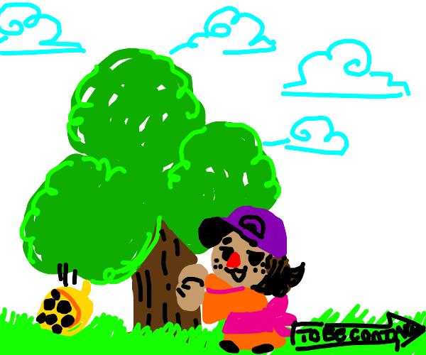 Animal Crossing Style Trees