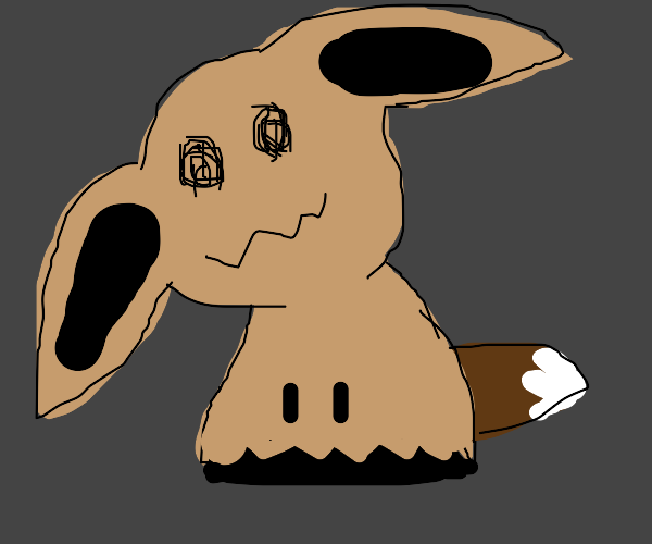Mimikyu Disguised As Eevee