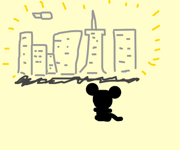 small mouse in a big world
