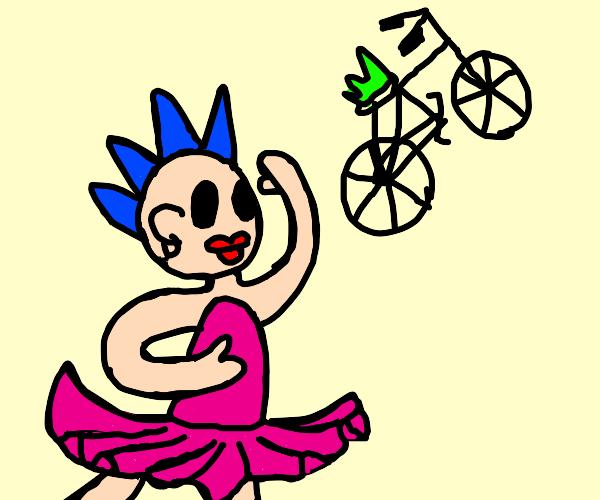 Punk Ballerina and Punk Biker