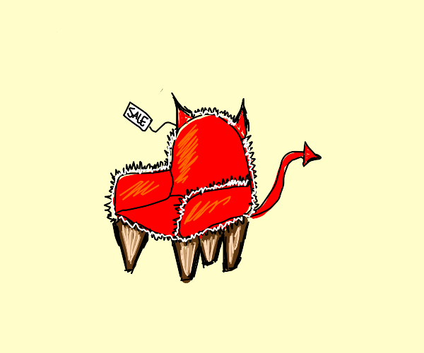 Devil chair for sale
