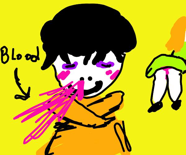 Anime Nose Bleed Meme