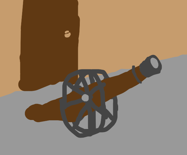 cannon on wheels