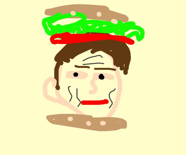 Steve Buscemi Sandwich