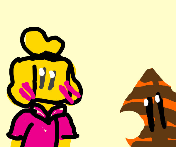 Isabelle has a crush on a tanooki leaf