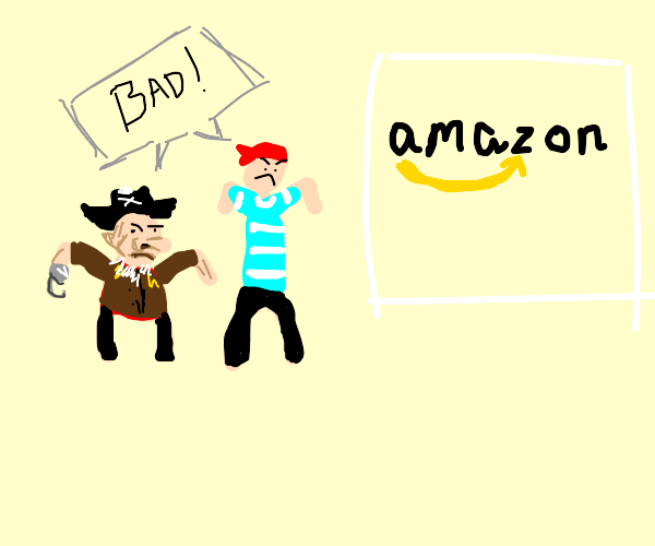 pirates hate Amazon