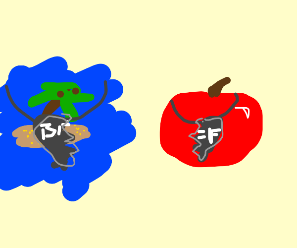 deserted island is apple's bff