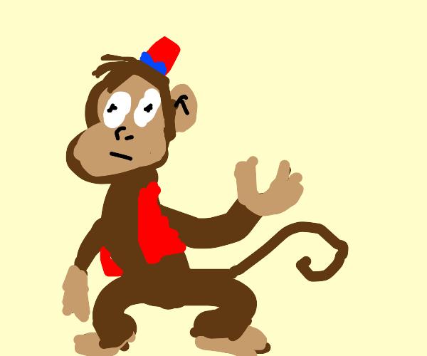 monkey from alladin