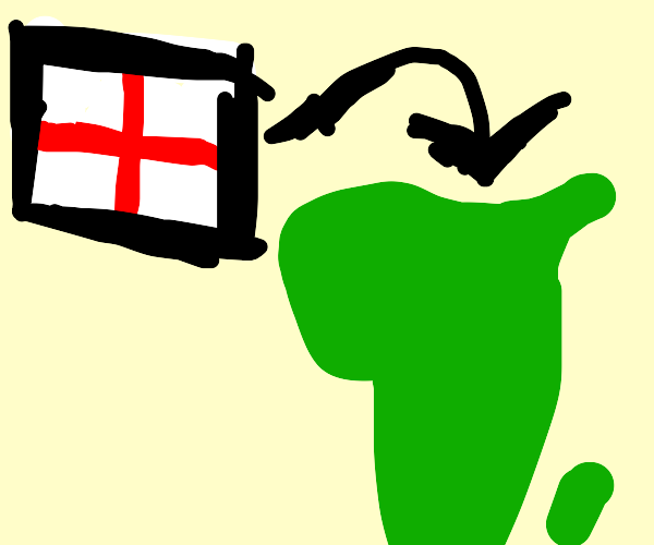 england goes to africa