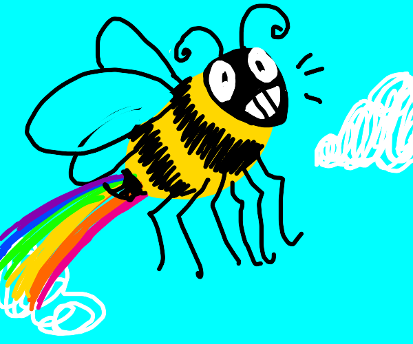 Free draw, but include a bee