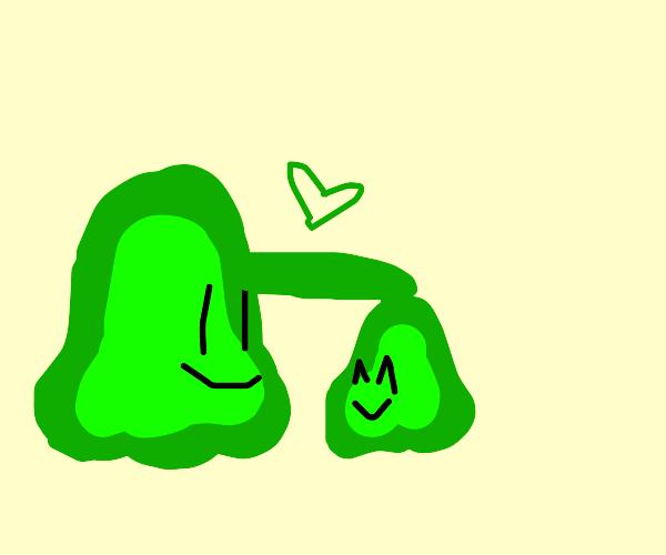 A kind slime father