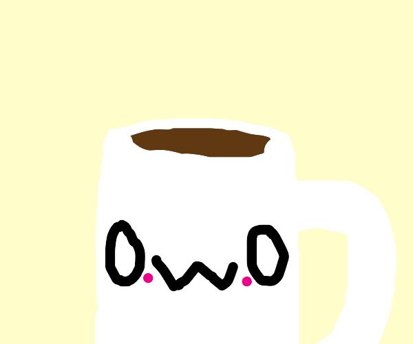 coffee cup cute beae