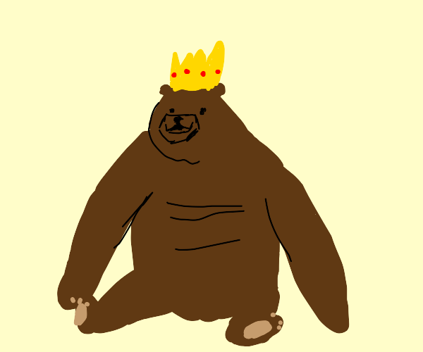 bear is king