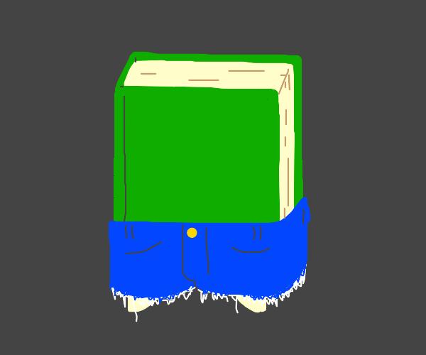 book in shorts