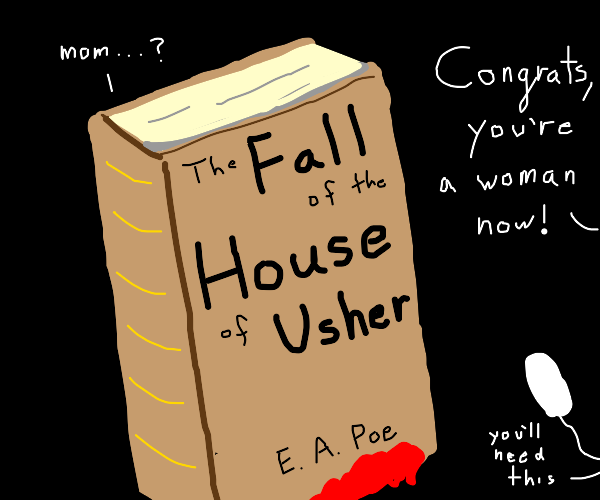 Edgar Alan Po's book got a period