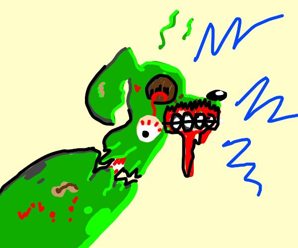 Zombog (Zombie dog)