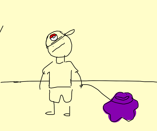 Walking a pet Ditto