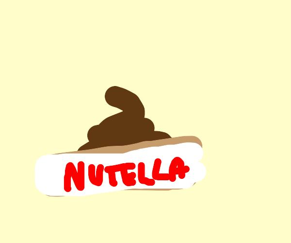 Poop in nutella box
