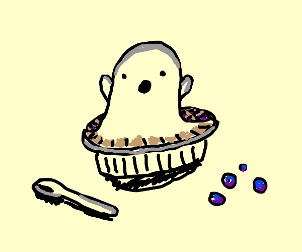 Boo-Berry Pie