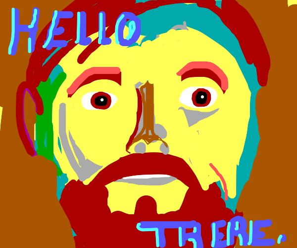 obi wan kenobi says hello