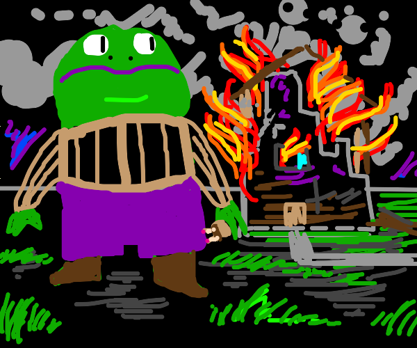 Arsonist toad