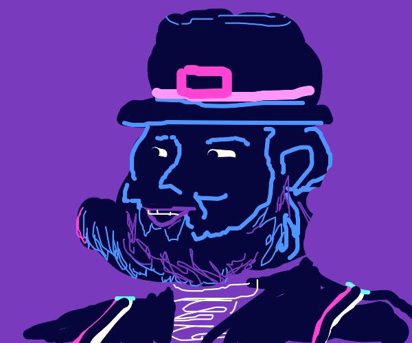 Fat irish man