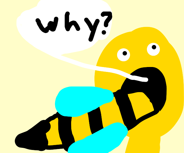 Why is my tongue a bee now?