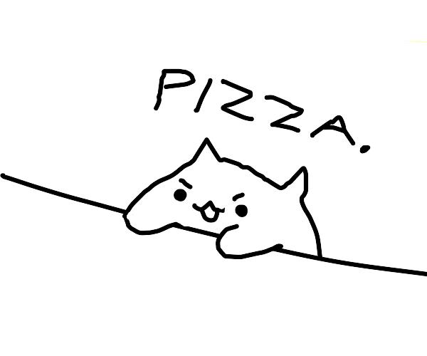 bongo cat demands pizza