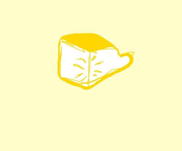 A quarter of a lemon