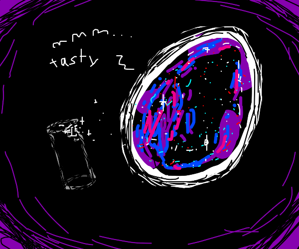 The Cosmic Egg finds the cylinder delicious