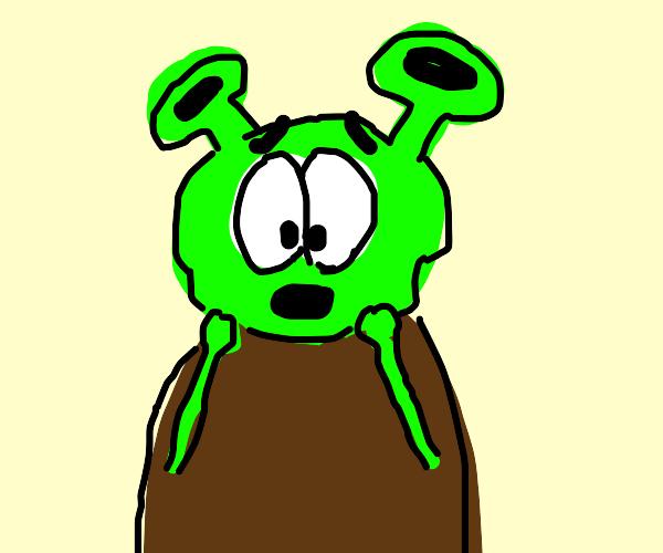 A Horrifying Shrek.
