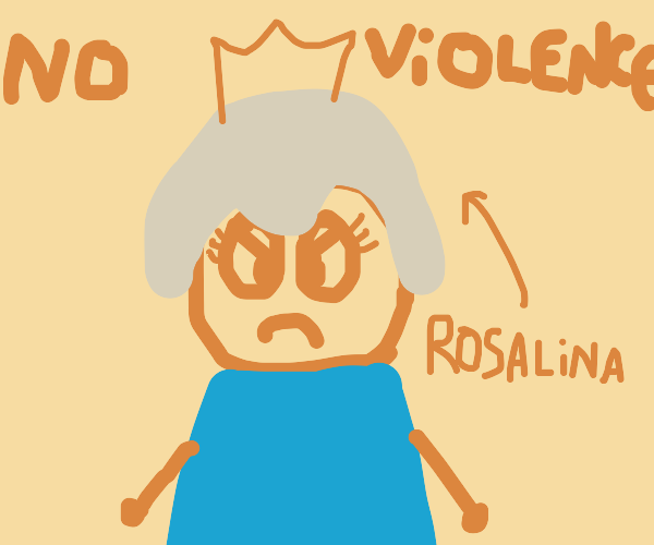 rosalina about to commit a murder