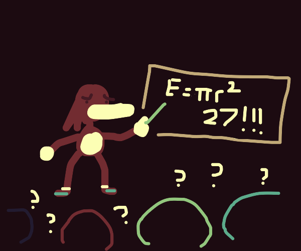 knuckles sucks at teaching maths