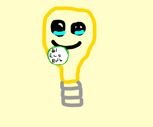 Lightbulb gets first place