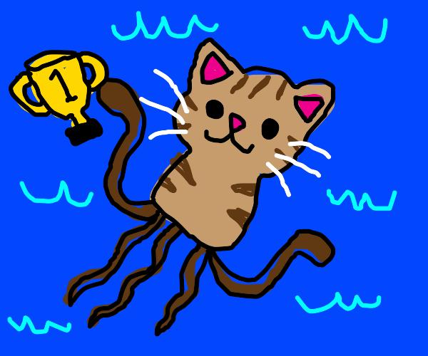 Squid cat is #1