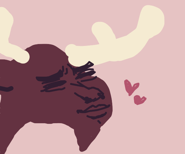 Moose looks at you sexily
