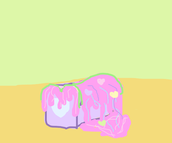 Slimy Pink Bread